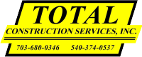Total Construction Services, Inc. Logo